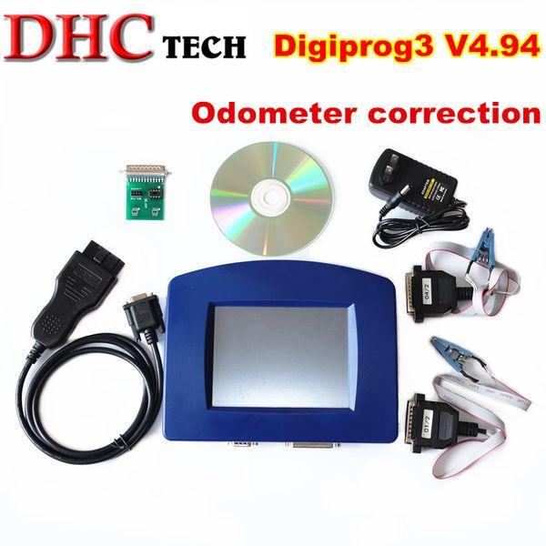 Digiprog 3 V4.94 Digiprog III With OBD2 ST01 ST04 Cable Odometer Correction Tool