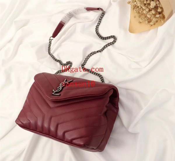 2019 Women's diagonal cross bag classic soft shape front flap casual fashion with a high-end atmosphere