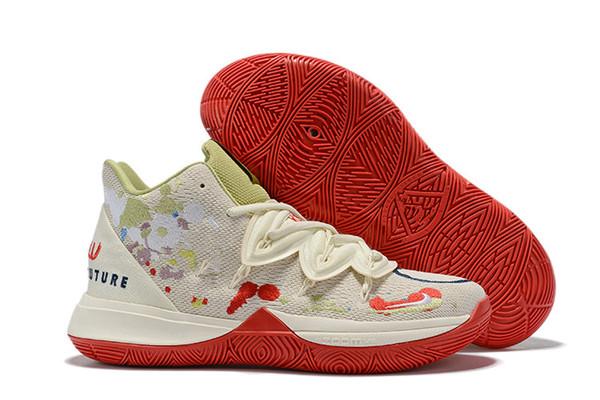 2019 новые мальчики дети Kyrie V Lucky Charms Shoes Sales Ирвинг 5 мужской баскетбол 5s обувь молодежные девушки женщины размер US4-US12