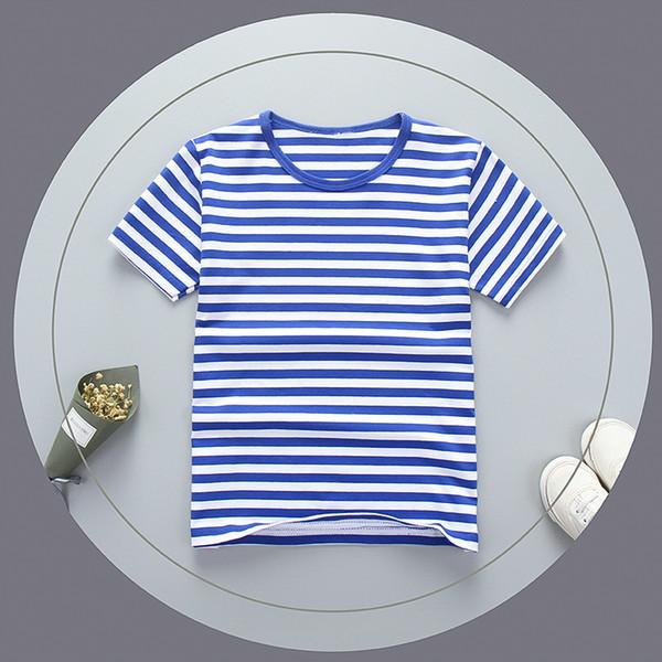 good qulaity 2019 fashion boys t-shirts kids striped tops tees casual children cotton short sleeve shirt boys clothing bebe costume