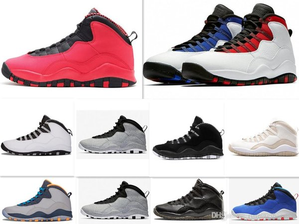 2019 Tinker 10 Westbrook Red Blue Cement Men Basketball Shoes 10s I'M Back  Powder Blue Cool Grey Steel Sneakers High Quality 4 From Encounter2, $79.4  ...
