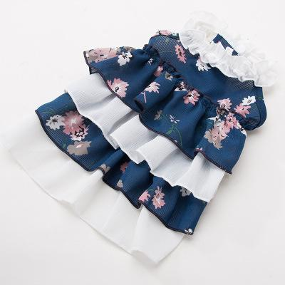 Teddy Puppy Pet supplies dog fashion apparel cute cloth suit princess style for pet cat puppy custumes cloth Parisian dog praty dress