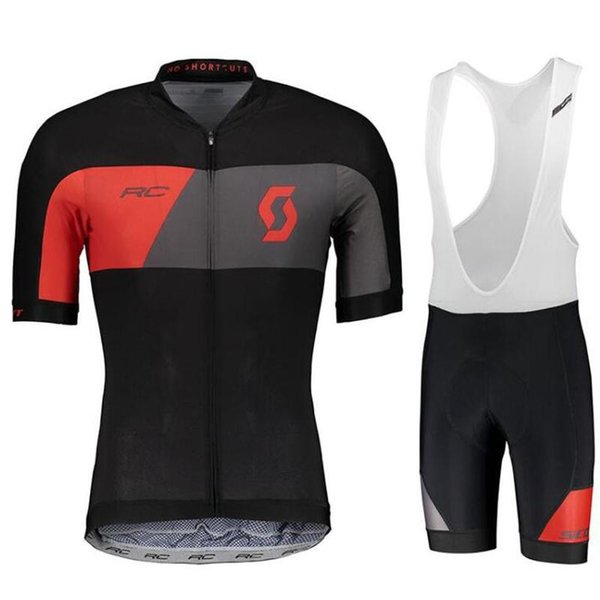 New 2019 SCOTT Team pro cycling jersey 9D gel Pad bike shorts set men Ropa Ciclismo bicycling Maillot Culotte clothing