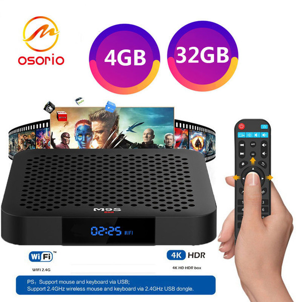 M8S II WIFI Android 5.1 2GB 8GB S905 Android Smart TV Box Quad Core Player FL