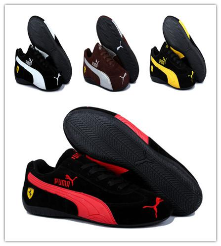 2019 Men Shoes Suede Leather Casual Sport Racing Red Black Sneakers Future Cat Leather SF Running Athletic Women Casual ShoesPUMA Size 36 45 From