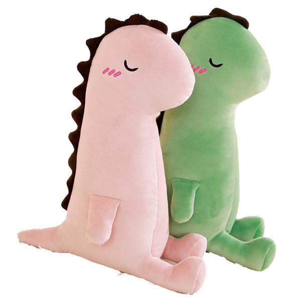New Arrive 40-80cm Large Dinosaur Pillows Plush Toys Kawaii Stuffed Soft Animal Doll for Girlfriend Cartoon Toy Classic Gift