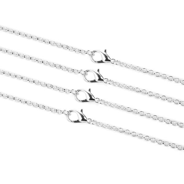 الفضة 3MM طول 60CM