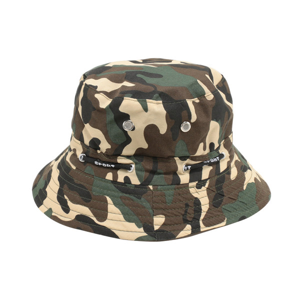 Outdoor Men Women Bucket Hat Cap Fishing Hunting Camping Boonie Fisherman Sun