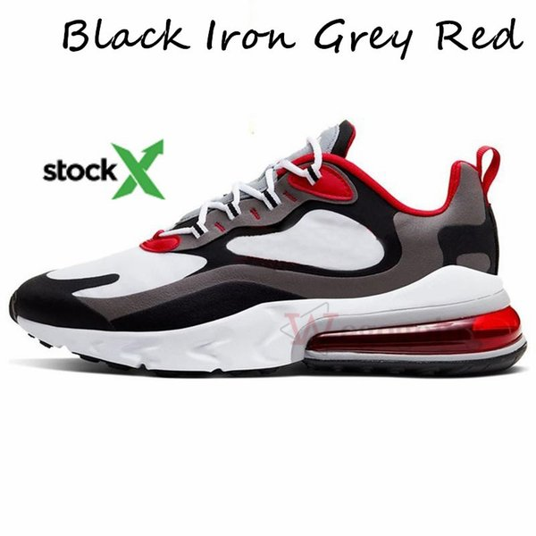 24.Black Iron Grey Red