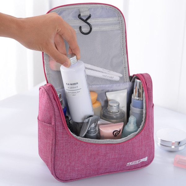 Cosmetic Storage Folding Handbags Multifunctional Hanging Waterproof Toiletry Storage Bag Large Capacity Makeup Organizer BH01018 TQQ