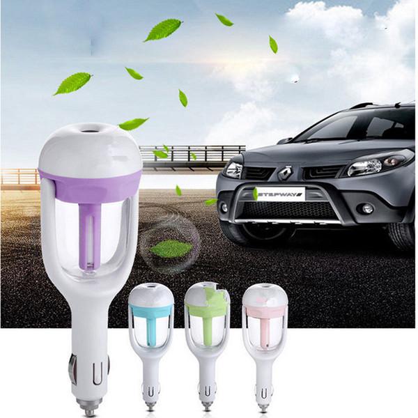 Auto Öldiffusor Aromatherapie Lufterfrischer Nebelhersteller Nebelmaschine Auto Luftbefeuchter Luftreiniger Aroma Diffusor Essential