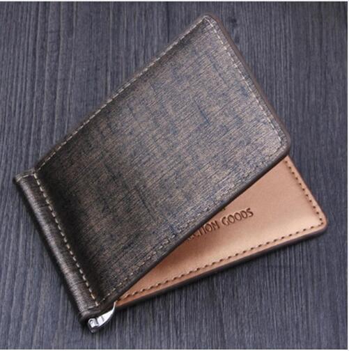 Großhandel Herren Bifold Business Leder Brieftasche Luxus Branded Berühmte Id Kreditkarte Visitenkarten Wallet Magic Money Clips 2019 Heiß Von