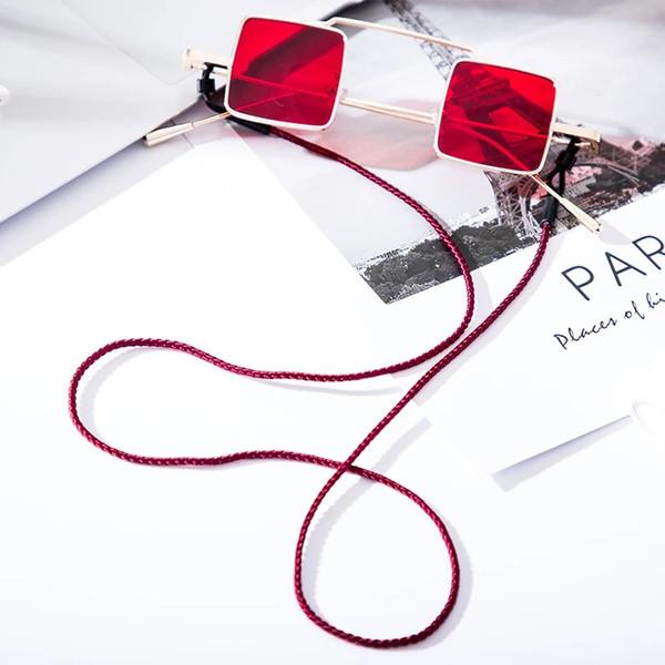 안경 체인 선글라스 레트로 짠 용의 규모 로프에 매달려 넥 타입의 안경 체인 동향