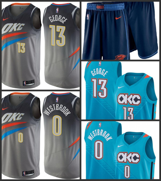 huge selection of d1637 edf6d 2019 Oklahoma Men City Thunder Jersey Paul George Russell Westbrook City  OKC Edition Jerseys UK 2019 From Outletjersey, UK $$19.1 | DHgate UK