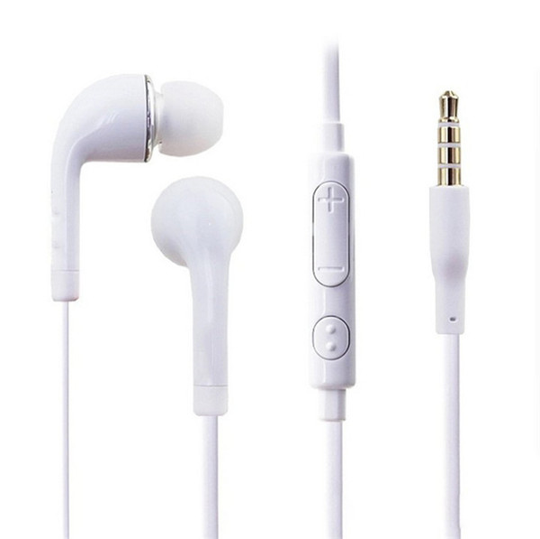 J5 наушники-вкладыши наушники гарнитура с регулятором громкости и микрофоном для Samsung Galaxy S5 S4 i9500 S3 i9300 Note2 Note3 N9000