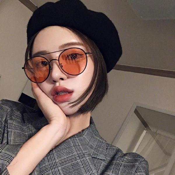 Gafas de sol de gran tamaño de moda retro vintage para hombres y mujeres, montura de metal grande, gafas de sol para mujer, gafas de fiesta, gafas ovaladas uv400