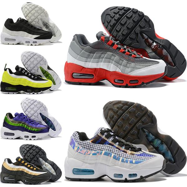 Compre Nike Air Max 95 2019 Zapatillas Deportivas Para Niños Zapatillas De Baloncesto Para Niños Wolf Grey Toddler Sport Sneakers Para Boy Girl
