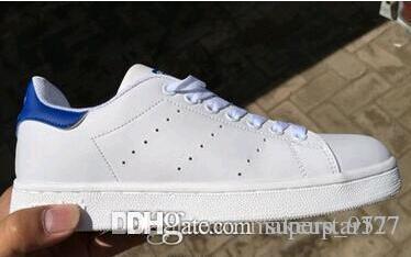 Горячая Бесплатная доставка новый Стэн обувь Мода Смит кроссовки повседневная кожа мужчины женщины Спорт кроссовки кроссовки классические квартиры