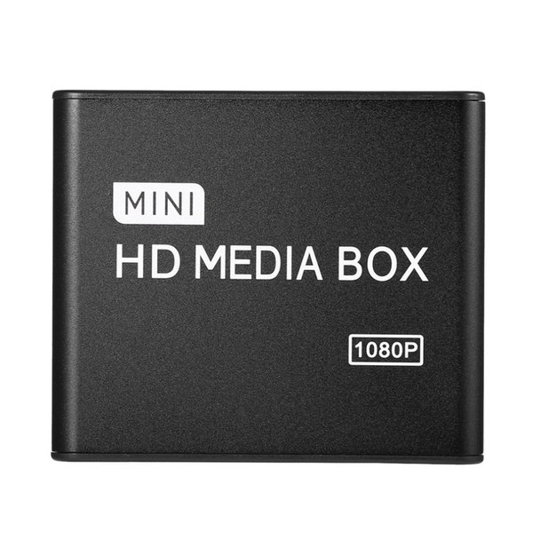 1080P HDD Media Box TV box Video Multimedia Player Full HD With SD MMC Card Reader 100Mpbs AU EU US Plug Mini Media Player