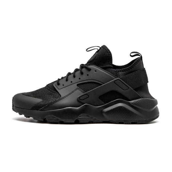 Usine boutique en ligne en gros unisexe Huarache 4 montagne chaussures d'escalade hommes femmes bonne qualité baskets Huarache grande taille 45 US11