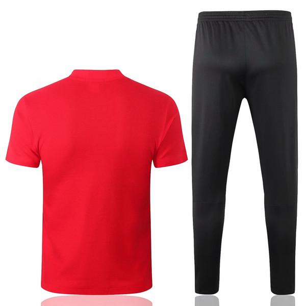 9901ef656ad1b venta al por mayor 18 19 camisetas de polo rojas de Barcelona camisetas de  fútbol MESSI 2018 2019 FCB Suárez COUTINHO Camiseta de futbol DEMBELE Sets  de ...