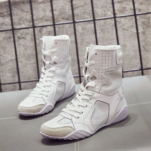Autumn White Shoes Women Real Leather Lady Ankle Boots Cross-tied Adult Girl Flats Letter Knight Boot Female Breathable