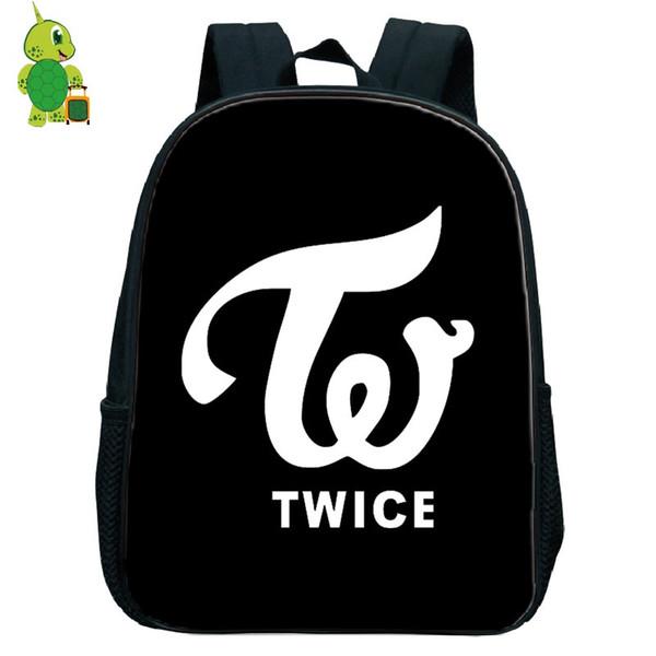 Kpop Twice JungYeon Kindergarten Zaino Sacchetti di scuola per bambini Zaino per bambini Ragazzi Ragazze Sacchetto di libri primari Piccolo