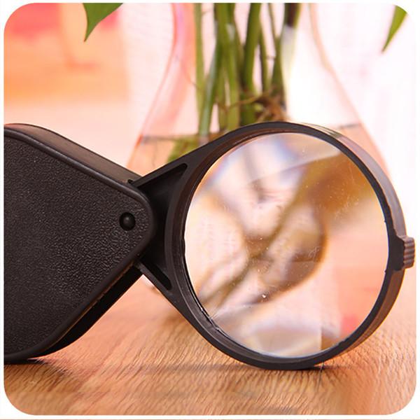 Pop Folding 10X Mini Pocket Jewelry Magnifier Magnifying Eye Glass Loupe Lens