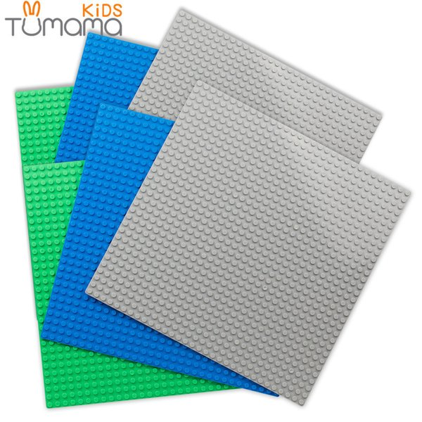 6pcs/set 32*32 Dots Base Plate For Small Bricks Baseplate Board Compatible Diy Building Blocks Toys For Kids
