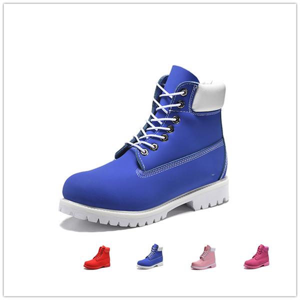 Original mens women winter boots chestnut black white red blue Grey Martin womens men designer boot size 5.5-11 fast shipping aN