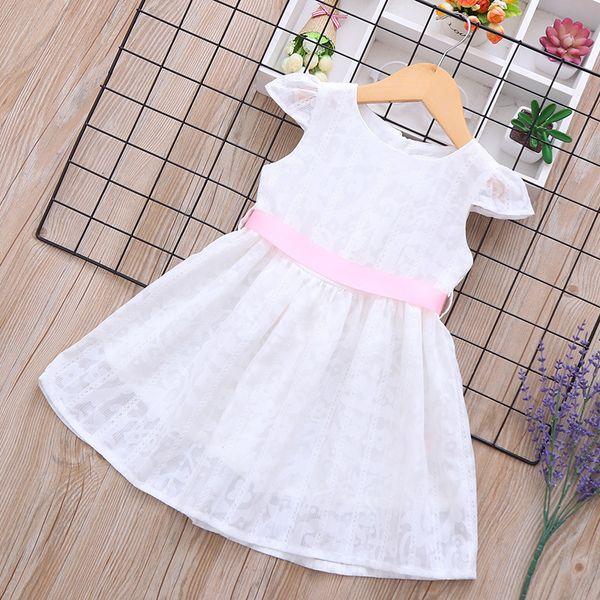 Princess Dress Floret Cotton Girl Summer Dress 2019