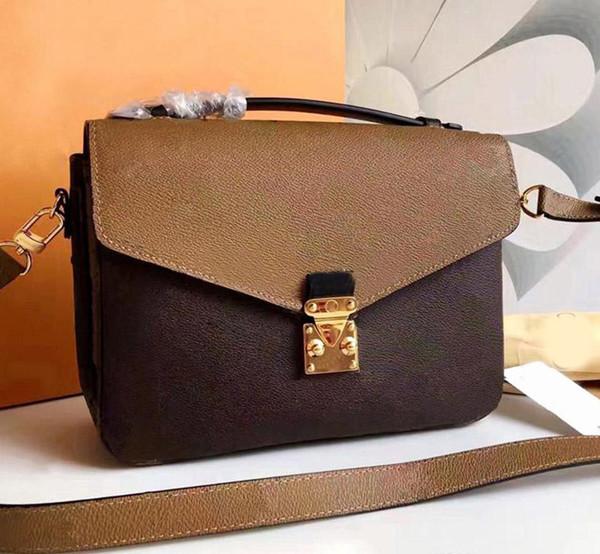 Pochette Metis donne progettista crossbody L della borsa del sacchetto di spalla delle signore sacchetto del progettista di lusso del messaggero di modo parigi borse a mano vecchio fiore