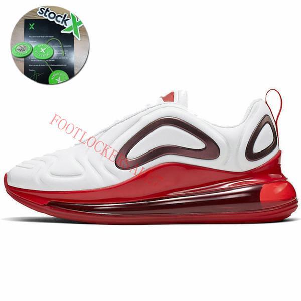 #12 White Hyper Crimson