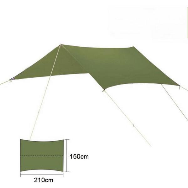 Multi-function canopy outdoor camping beach super large ultra-light canopy sunscreen UV multi-purpose tent pergola Floor mat,