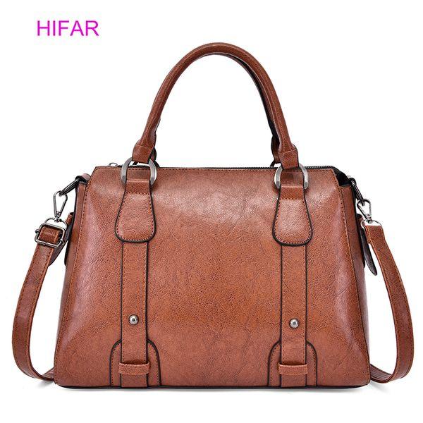 Luxury Handbags Women Bag Autumn PU Leather Crossbody Bags For Women 2019 Famous Brands Shoulder Bag New Fashion Hand Sacs