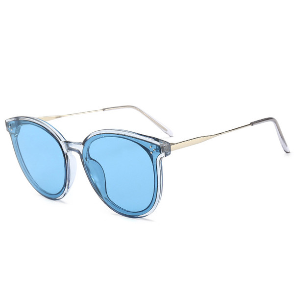 New V Brand Sunglasses Net Red Sunglasses Trend Metal Rice Nail Fashion GM for Men and Women