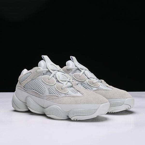 Çöl Sıçan 500 Koşu ünlü markalar Ayakkabı Ay Sarı Siyah Allık 2019 Tasarımcı Mens Womens Sneakers Eğitmenler Inek Deri 3 M Yansıtıcı L14