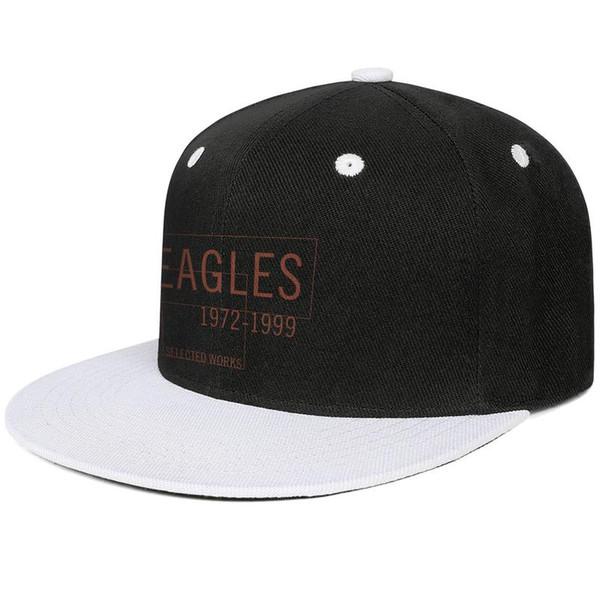 The Eagles 1972-1999 selected works Design Hip-Hop Cap Snapback Flat Brim Baseball Hats Breathable Adjustable