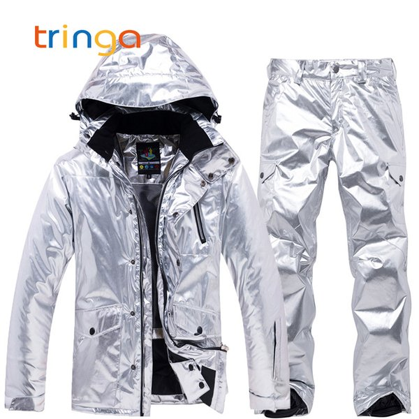 Skiing Suits Men And Women New Windproof Waterproof Thermal Snow Pants Sets Skiing Jackets And Pants Snowboarding Suits Male