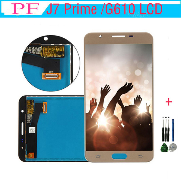 LCD For Samsung Galaxy J7 Prime G610 LCD Screen Display Digitizer with Touch Screen Assembly G610F G610K G610L G610S G610Y +Repair Tool