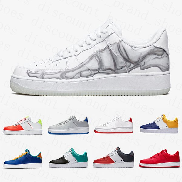 nike air force 1 one air forces shoes AIR FORCE 1 ONE AF1 SHOES US5.5-11 Utilitaire Noir Blanc Dunk 1 Chaussures Décontractées Hommes Femmes Skateboard Violet Rose Sport Sneakers