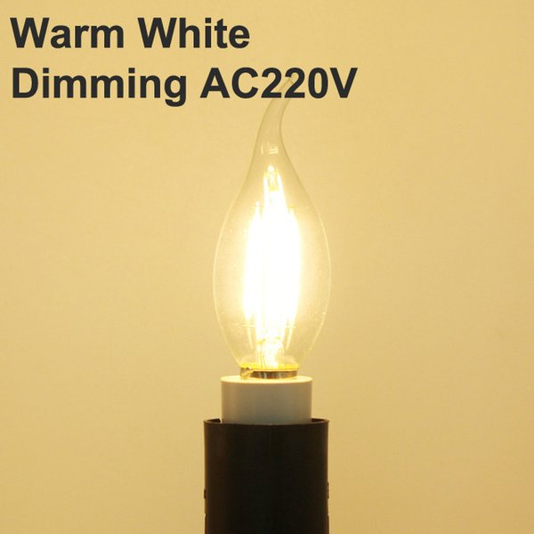 الدافئة الابيض يعتم AC220V