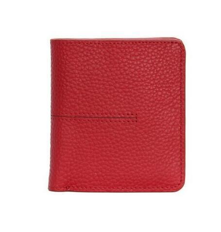 ETya short 2019 Genuine leather women wallet woman small Slim wallet money card holder pocket identification bag case