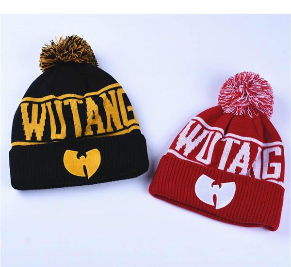 WuTang Beanies Neue Mode Winter WU TANG CLAN Für Frauen Männer Hiphop Strickmützen Wollmützen