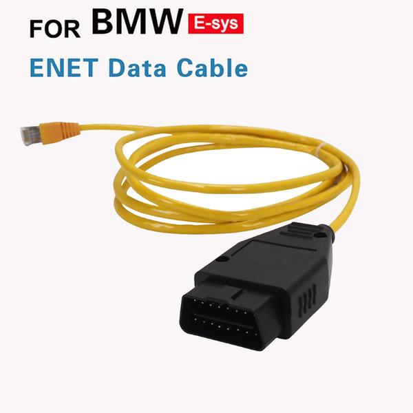 16PIN ESYS ENET кабель для F-серии Refresh скрытых данных ESYS ИКОМ Кодирование для 118i / 116i / 120i / 125i / M135i / 320Li / 120i GT X3