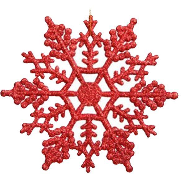 Acrílico Natal flocos de neve Casa Decorações Da Árvore de Natal para Casa Pendurado Ornamentos Feriado de Presente de Natal Agradável de Casamento