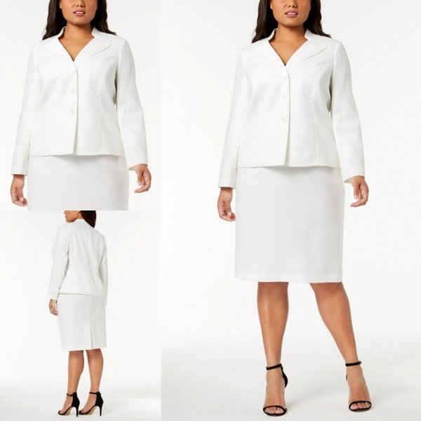 Fashion White Mother Of The Bride Dresses Formal Business Suits Custom Made  Plus Size J0an Rivers Joan Joan Rivers From Foreverbridal, $77.94| ...