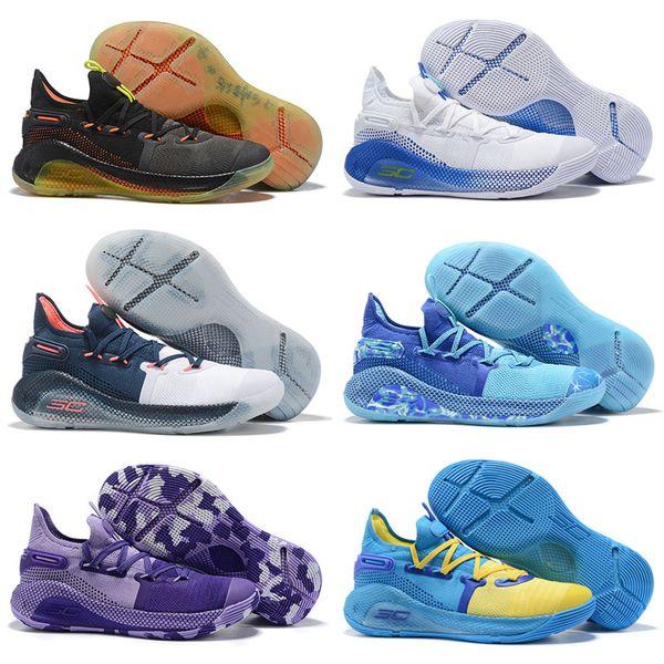 2019 Roaracle VI 6 Basketbol Ayakkabı Splash Parti Dub Ulus En Iyi Steph Spor Eğitim Sneakers Ayakkabı