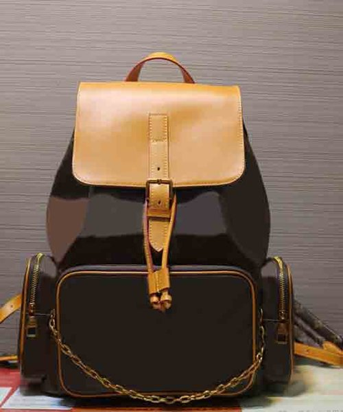 new designer M44658 backpack high quality petite malle michael shoulder bag trio luxury backpack travel bags Big business computer bag