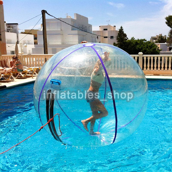 DHL Free shipping for transparent walk on water ball ,inflatable water walking ball,Zorb ball for water pool